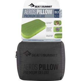Sea to Summit Aeros Premium Almohada Deluxe, gris